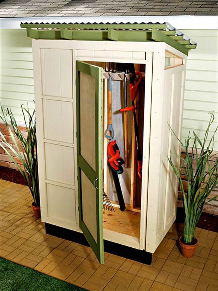 Build Your Own Storage Shed - Free Plans