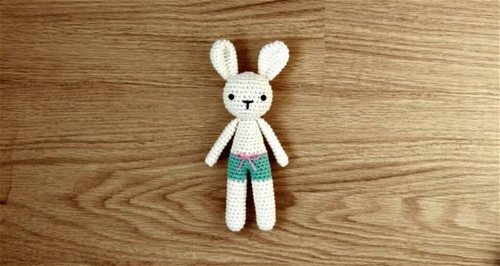 Free Bunny Crochet Amigurumi Pattern