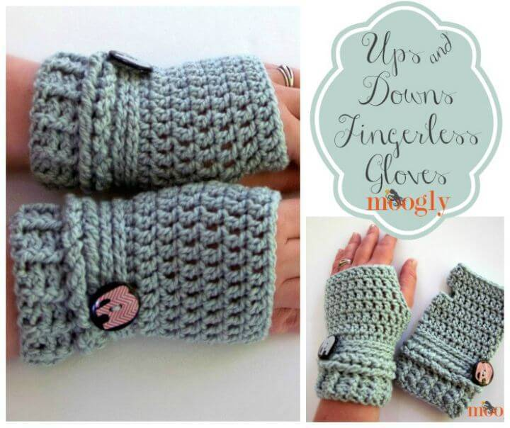 54 Free Crochet Fingerless Gloves Pattern For Beginners Diy Crafts