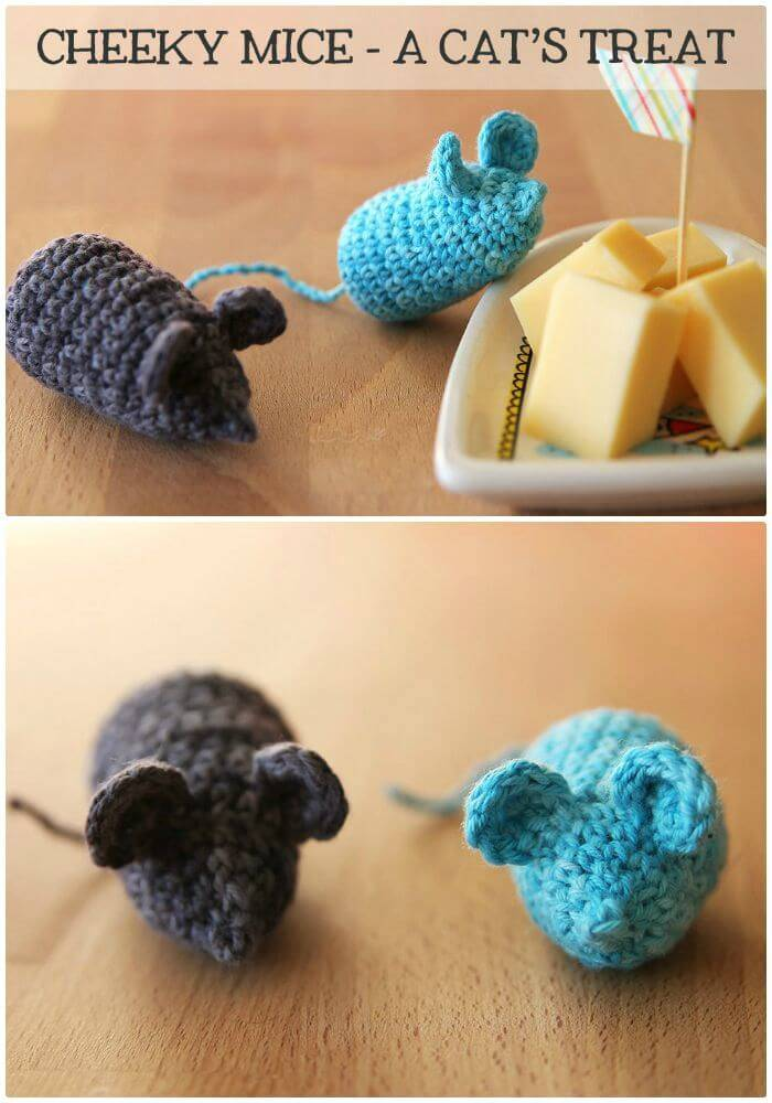 Free Crochet A Free Mice Pattern