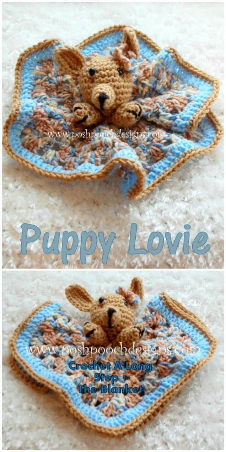 How To Crochet A Long Starts Today - Puppy Lovie