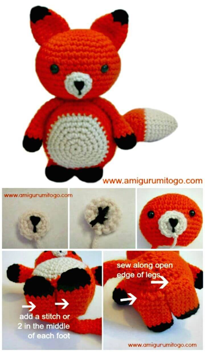 Crochet This Adorable Mister Fox - Free Pattern