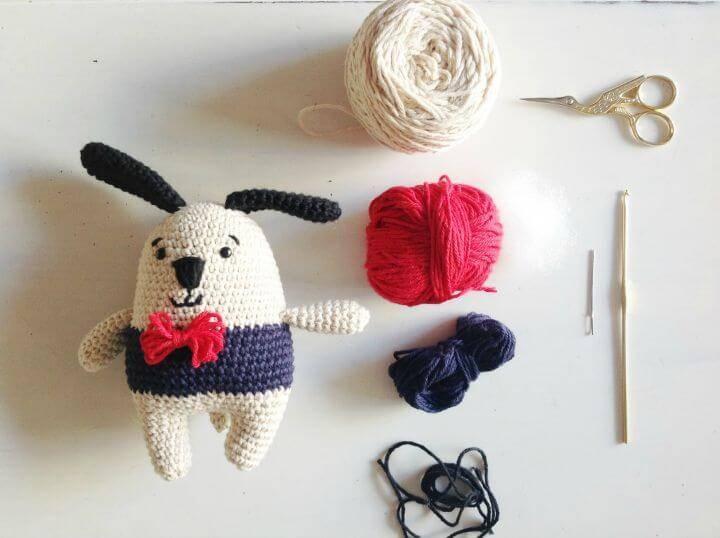 Crochet Alfred Amigurumi - Free Pattern