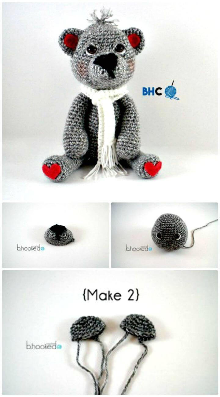 Amazing Bear Amigurumi - Free Crochet Pattern