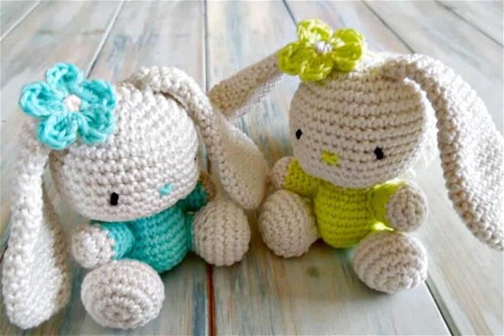 Free Crochet Amigurumi Bunny Pattern