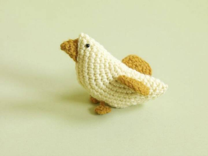 Easy Free Crochet Amigurumi Chick - Bird Pattern