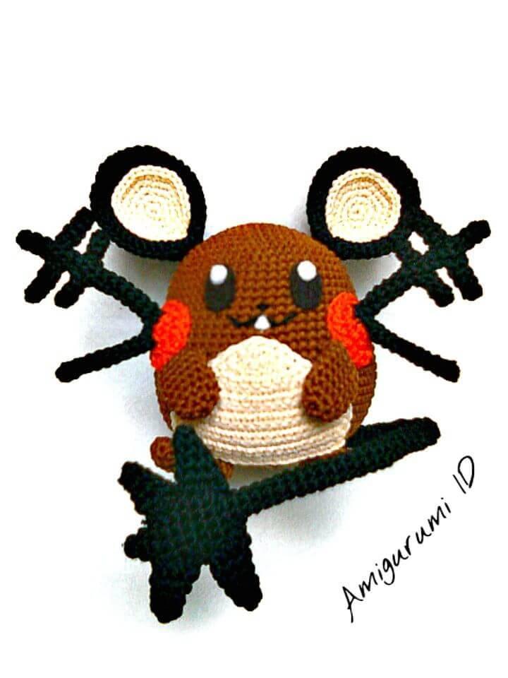 How To Crochet Amigurumi Dedenne Free Pattern