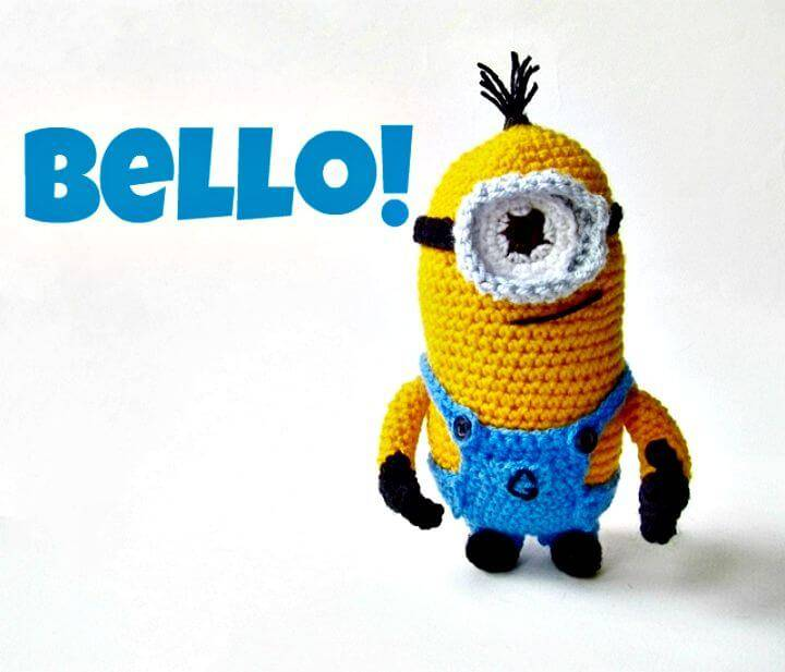 Free Crochet Amigurumi Despicable Me Minion