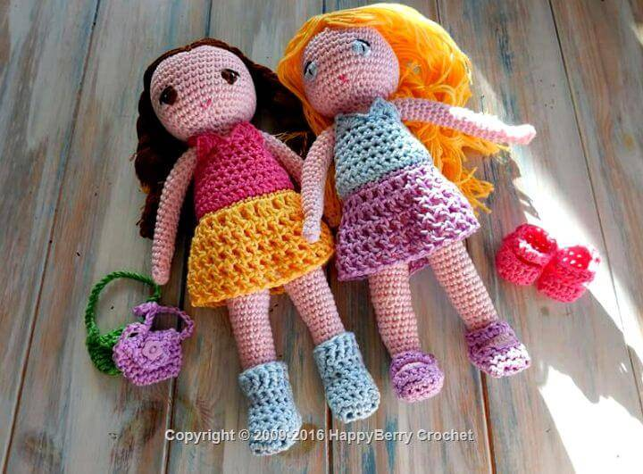 Crochet Amigurumi Dress Up Doll Pattern