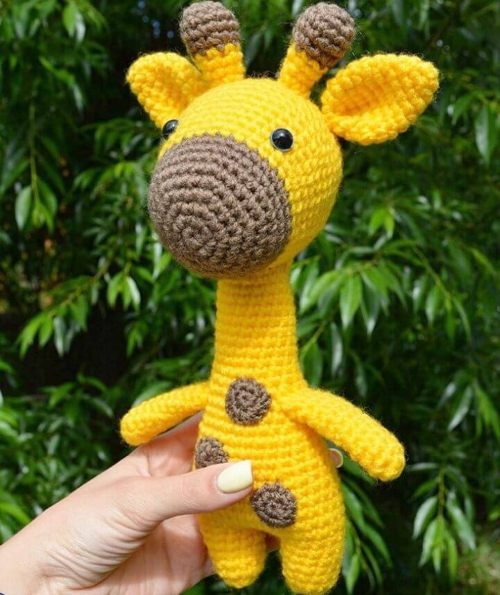 32 Free Crochet Giraffe Amigurumi Patterns Diy Crafts