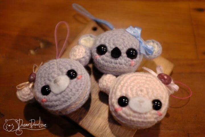 Free Crochet Amigurumi Macaroon Animals Pattern