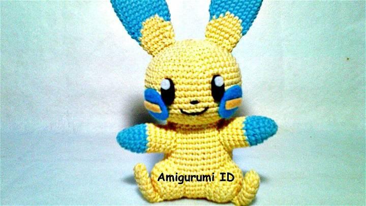 Crochet Amigurumi Minun Free Pattern