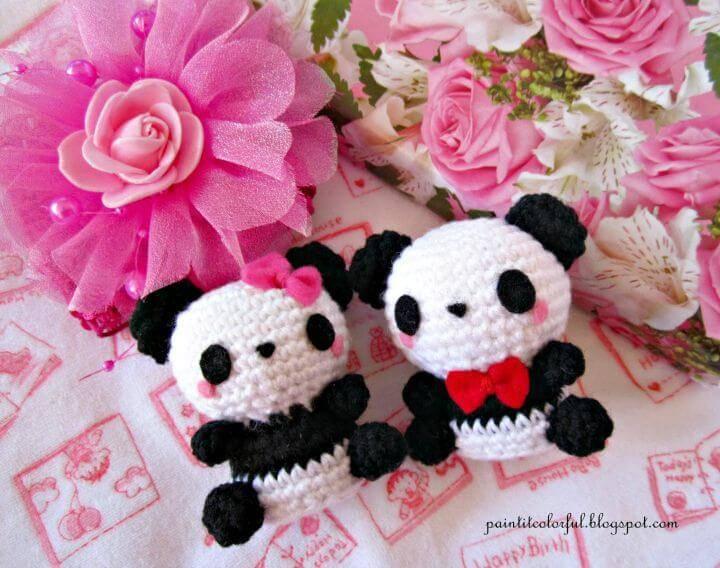 Crochet Amigurumi Panda - Free Pattern