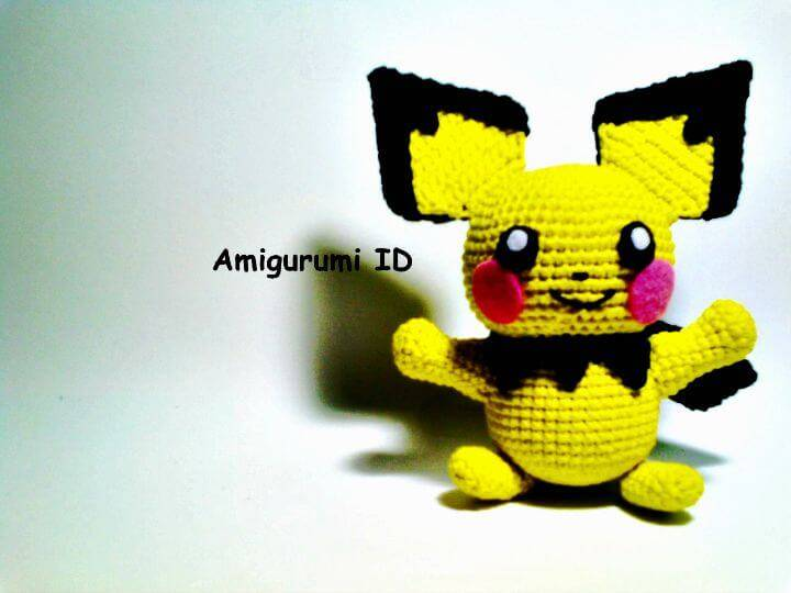 How To Crochet Amigurumi Pichu Free Pattern