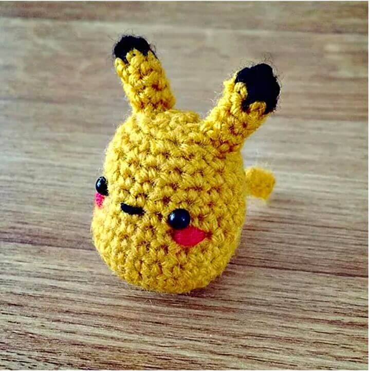 Super Cute Crochet Amigurumi Pikachu Pattern