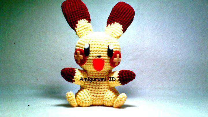 How To Crochet Amigurumi Plusle Free Pattern