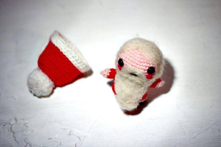How To Free Crochet Amigurumi Santa Claus Free Pattern