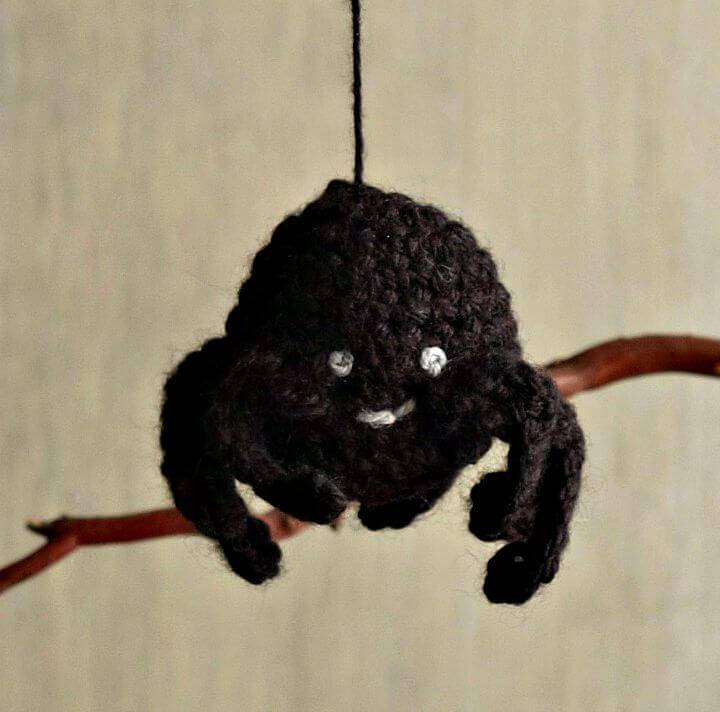 How To Crochet Amigurumi Spider Ornament Free Pattern