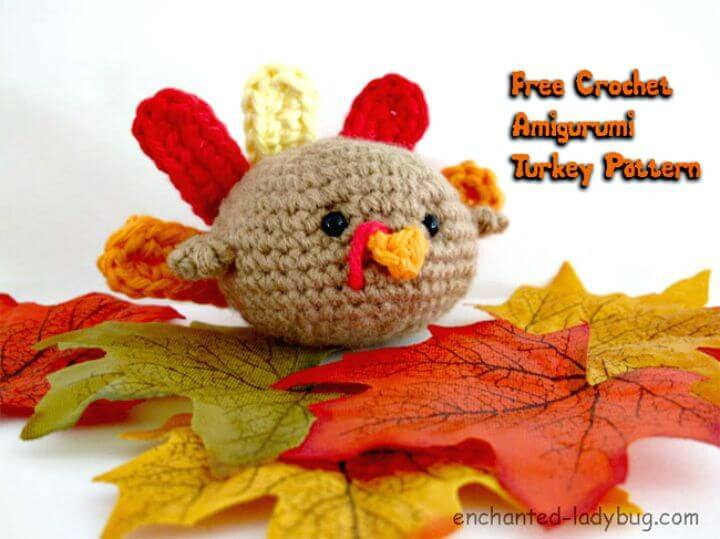 How To Crochet Amigurumi Turkey - Free Pattern