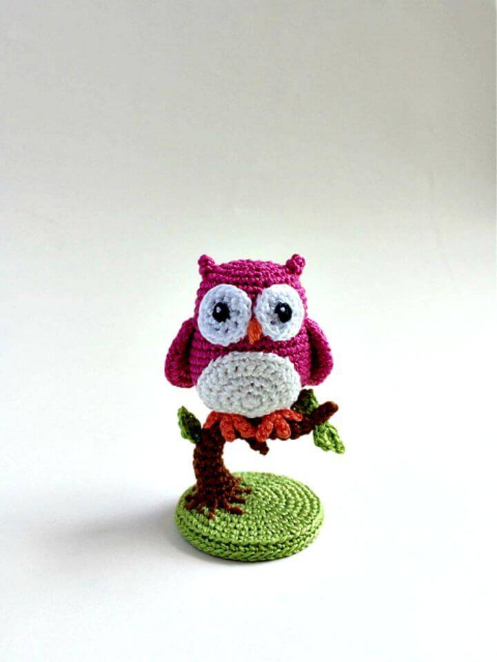 Free Crochet An Owl Is Born Pattern