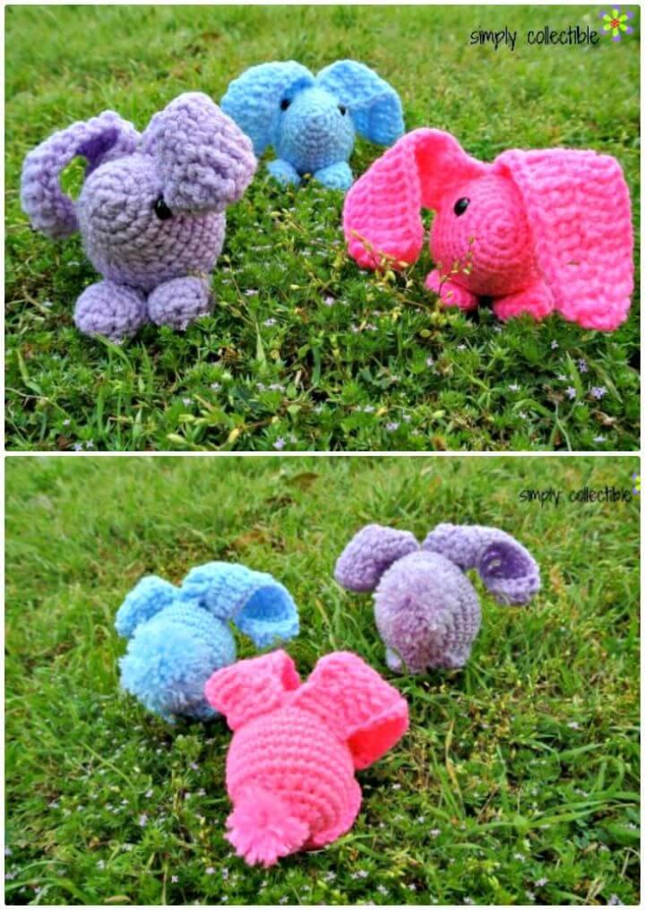Free Crochet Baby Bunny Amigurumi Pattern
