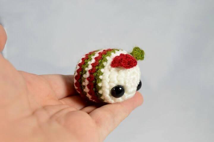 How To Crochet Baby Caterpillar Amigurumi Pattern