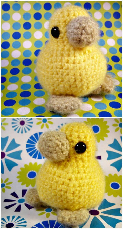 Crochet Baby Chick - Free Pattern