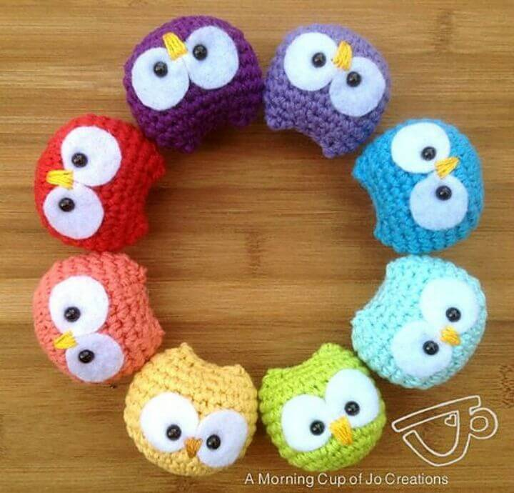 Crochet Baby Owl Ornaments Patterns