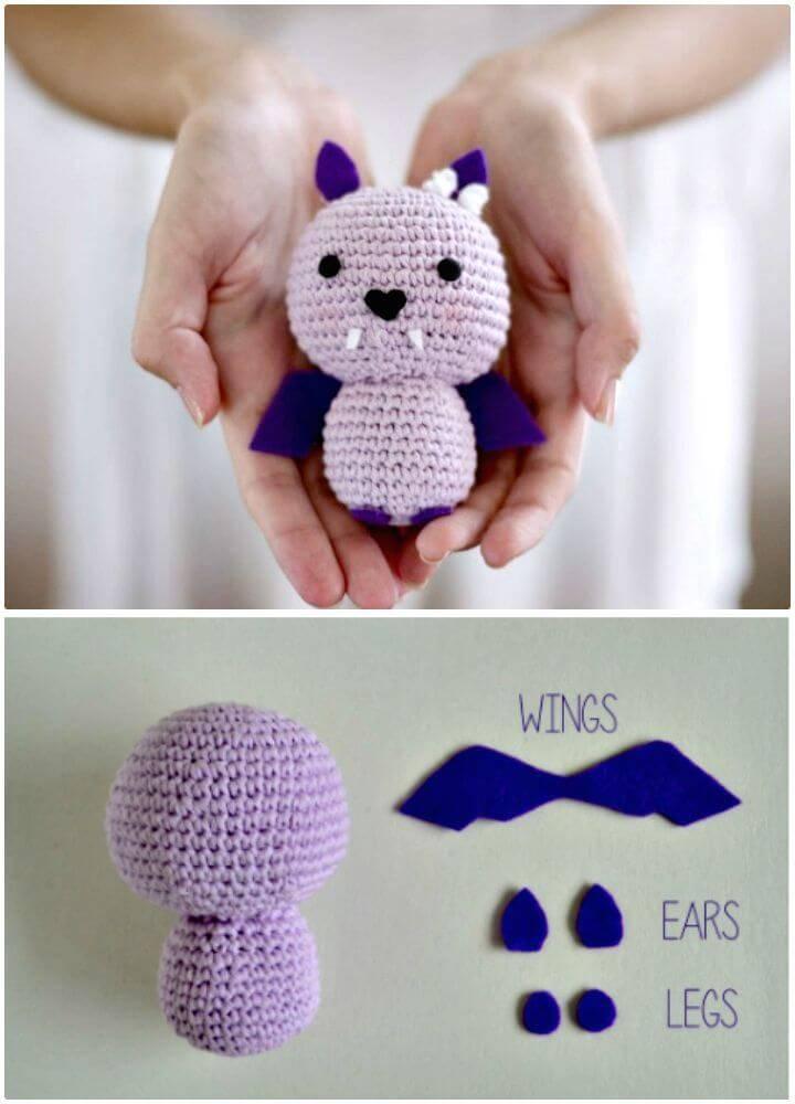 Free Crochet Bat Batsy Pattern