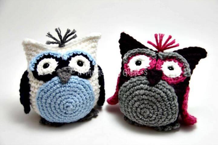 Easy Crochet Bean Bag Owl - Free Pattern!