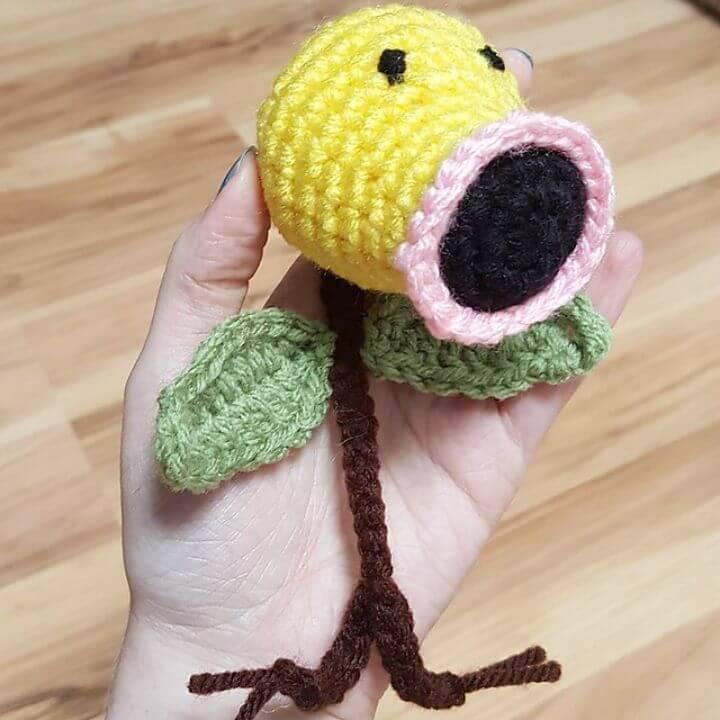 Crochet Bellsprout Pokemon Amigurumi - Free Pattern