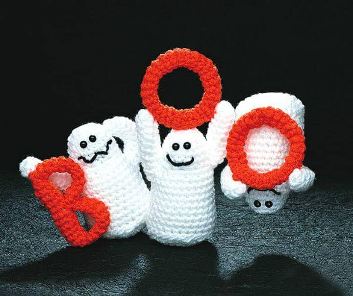 Free Crochet Boo Ghosts Pattern