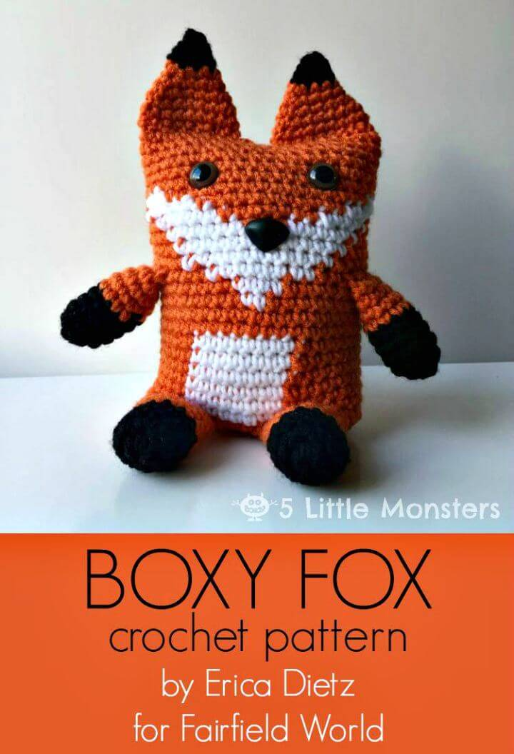 Crochet Boxy Fox-Free Pattern