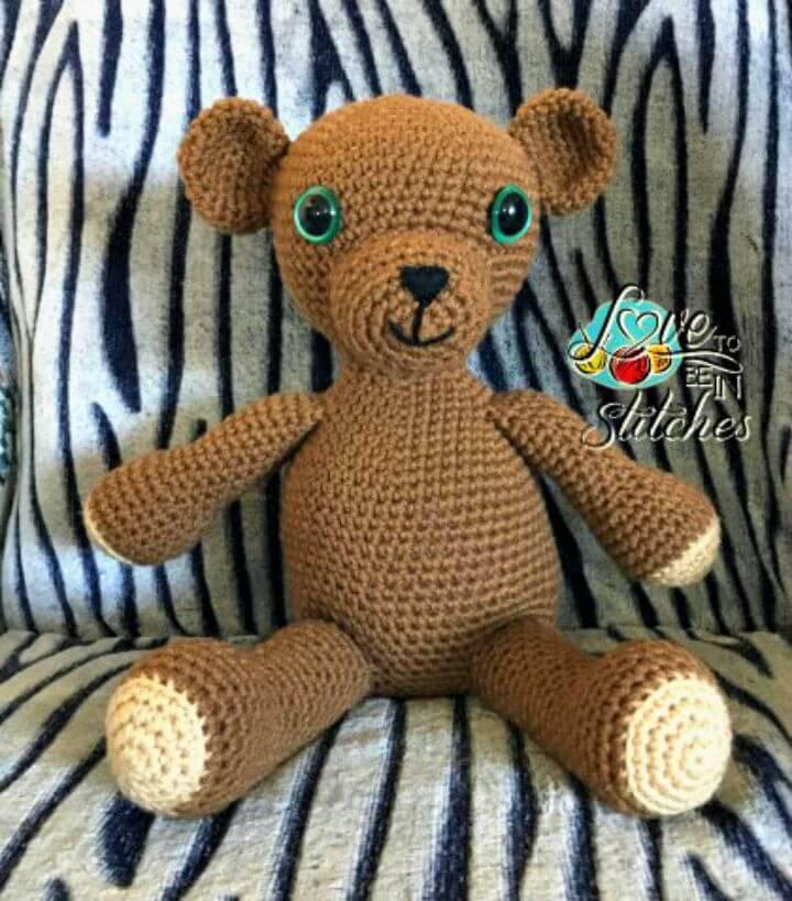 Crochet Brighton Bear - Free Pattern
