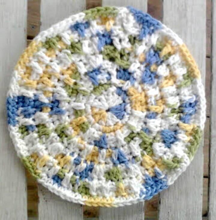 Crochet Bumpy Potholder - Free Pattern