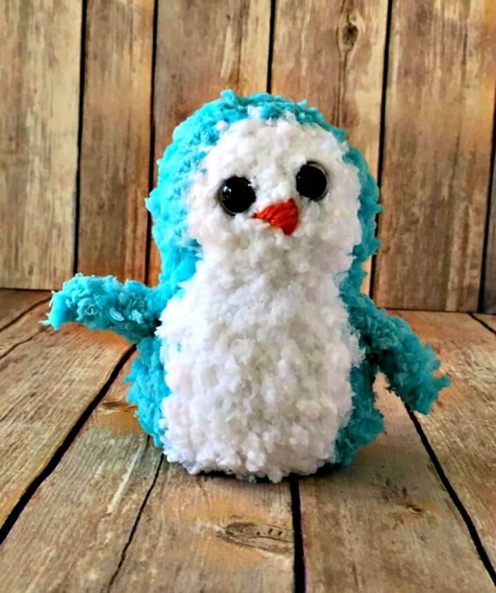 Buttercup Penguin Pal - Free Crochet Pattern