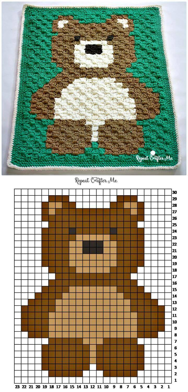 50 Free Crochet Teddy Bear Patterns Diy Amp Crafts