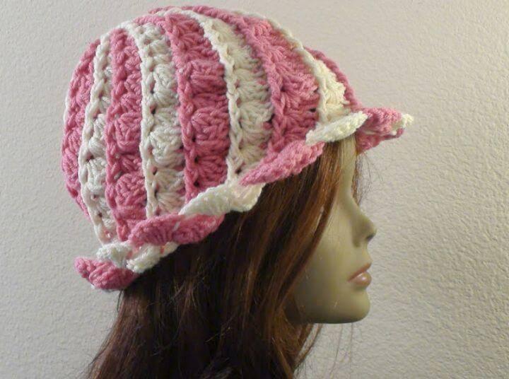 Easy Crochet Cap Blaise - Free Pattern