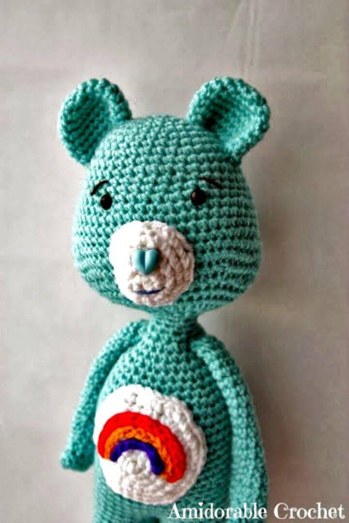 Free Crochet Care Bear Amigurumi Pattern