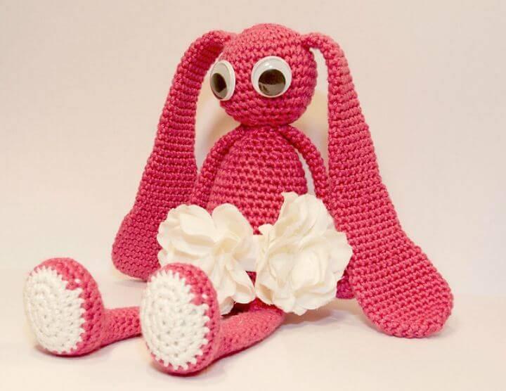 Free Crochet Charming Bunny - Amigurumi Pattern