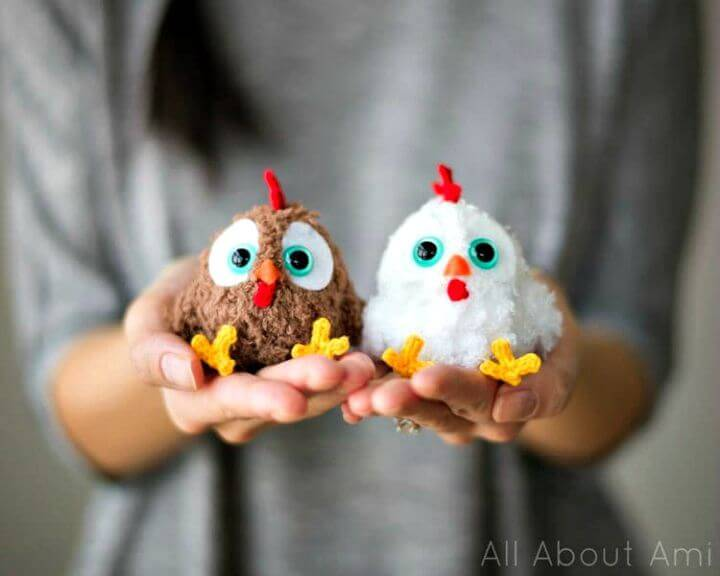 How To Crochet Chinese New Year Rooster - Free Amigurumi Pattern