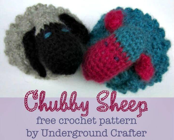 Free Crochet Chubby Sheep Pattern