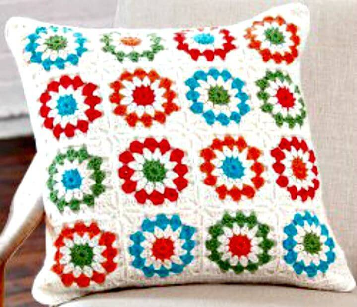 Free Crochet Copenhagen Pillow Pattern