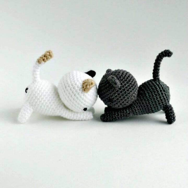 Learn How To Crochet Cute Cat - Free Pattern