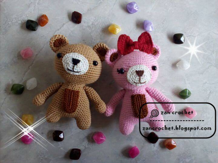 Amigurumi Free Patterns Bear : Crochet amigurumi 225 free crochet amigurumi patterns diy & crafts