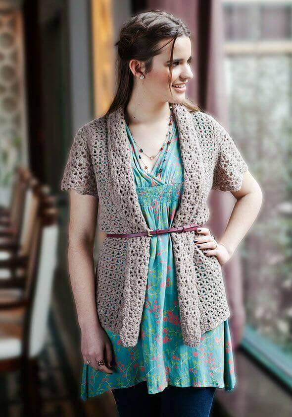 Crochet Delicata - Free Cardigan Pattern