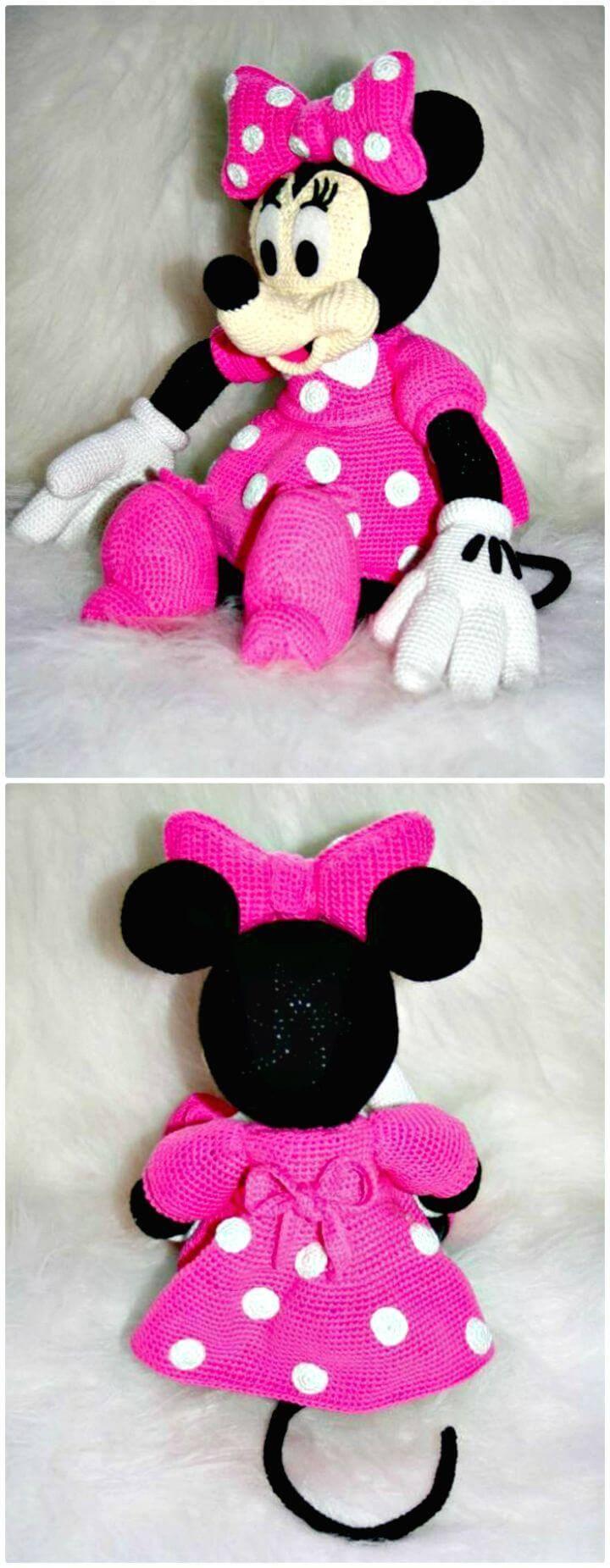 Crochet Mickey Mouse Patterns Hat Amigurumi Diy Amp Crafts