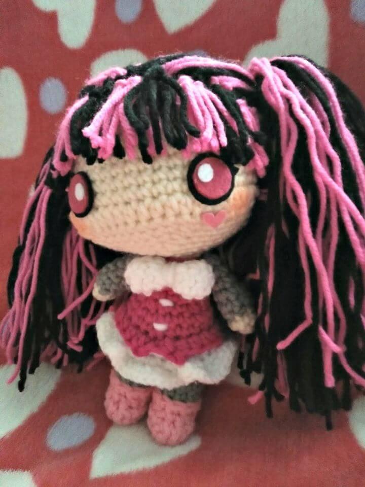 Free Crochet Draculaura From Monster High