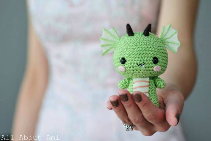 Crochet Dragon Amigurumi - Free Pattern