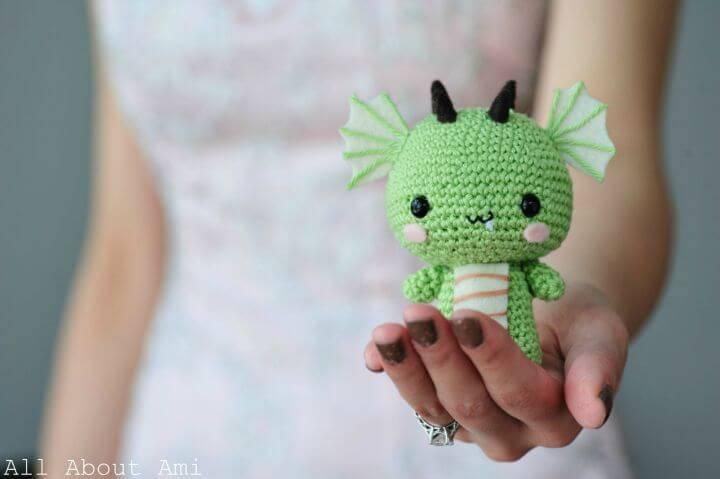 Crochet Dragon Amigurumi - Free Pattern